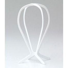 Folding Plastic Wig Stand, 2-Piece