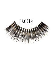 EYELASHES, EC14 (BLACK/SILVER)