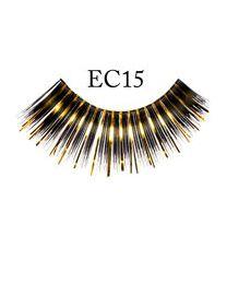 EYELASHES, EC15 (BLACK/GOLD)