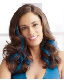 HUMAN HAIR CLIP-IN COLOR STRIPS by Put On Pieces