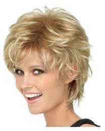 SPIKY CUT WIG (Shadow Shades) by Hairdo
