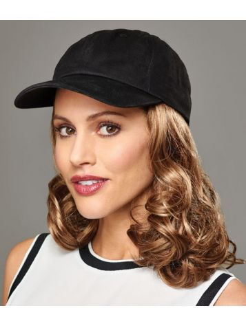 CURLY HAT BLACK by Henry Margu
