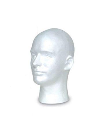 Mens Styro Mannikin, White