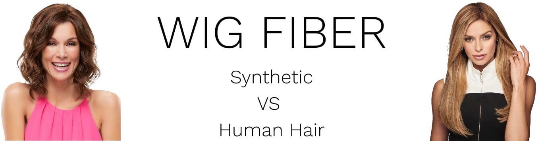 Human vs synthetic wig fiber