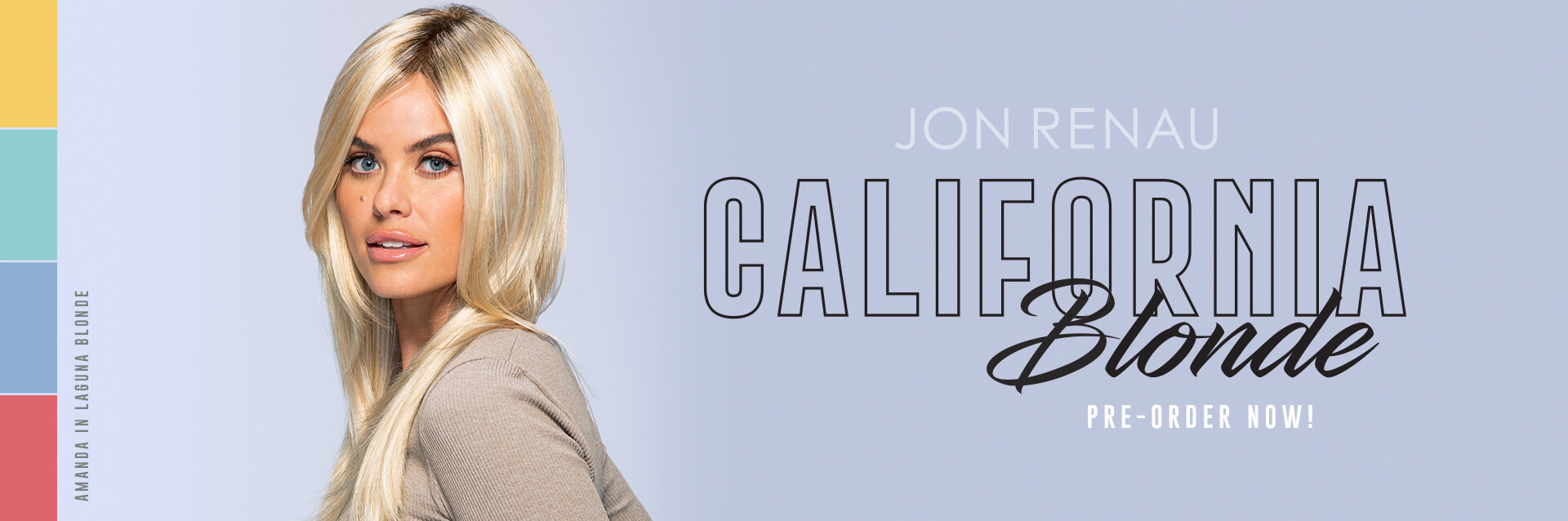 New Jon Renau California Blonde 2021